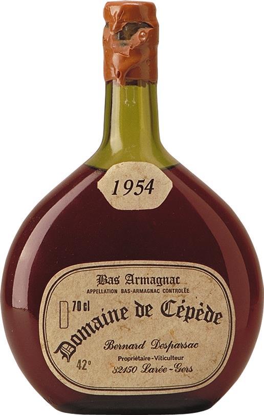 Armagnac 1954 Domaine de Cepède (4463)