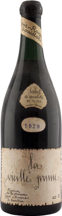 LA VIEILLE PRUNE 1929 Louis Roque (4490)