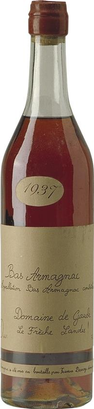 Armagnac 1937 Domaine de Gaube (4504)
