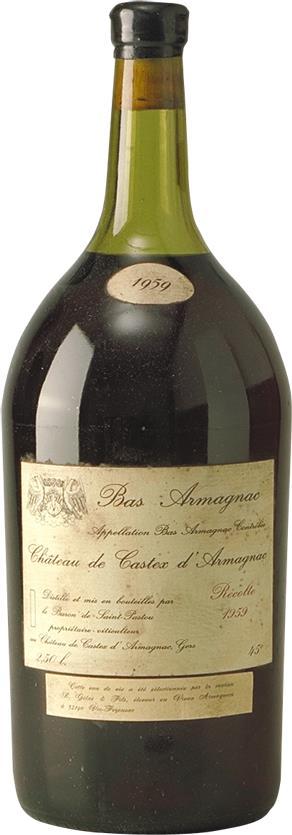 Armagnac 1959 Château de Castex (4505)