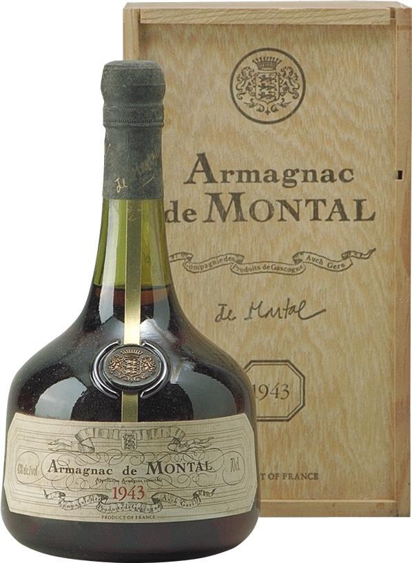 Armagnac 1943 De Montal (4534)