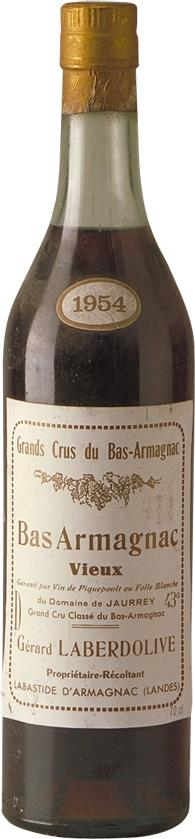 Armagnac 1954 Laberdolive (4542)