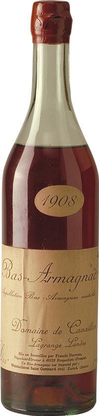 Armagnac 1908 Domaine de Cavaillon (4543)
