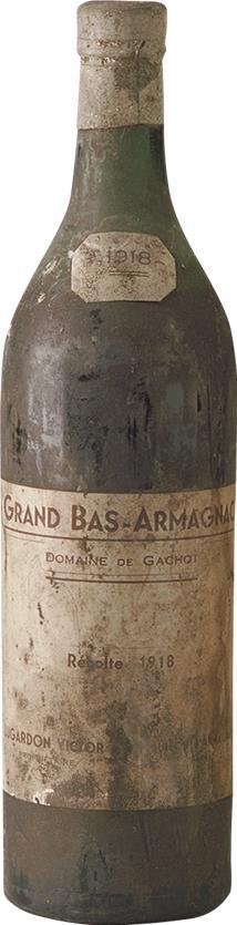 Armagnac 1918 Domaine Gachot (1356)
