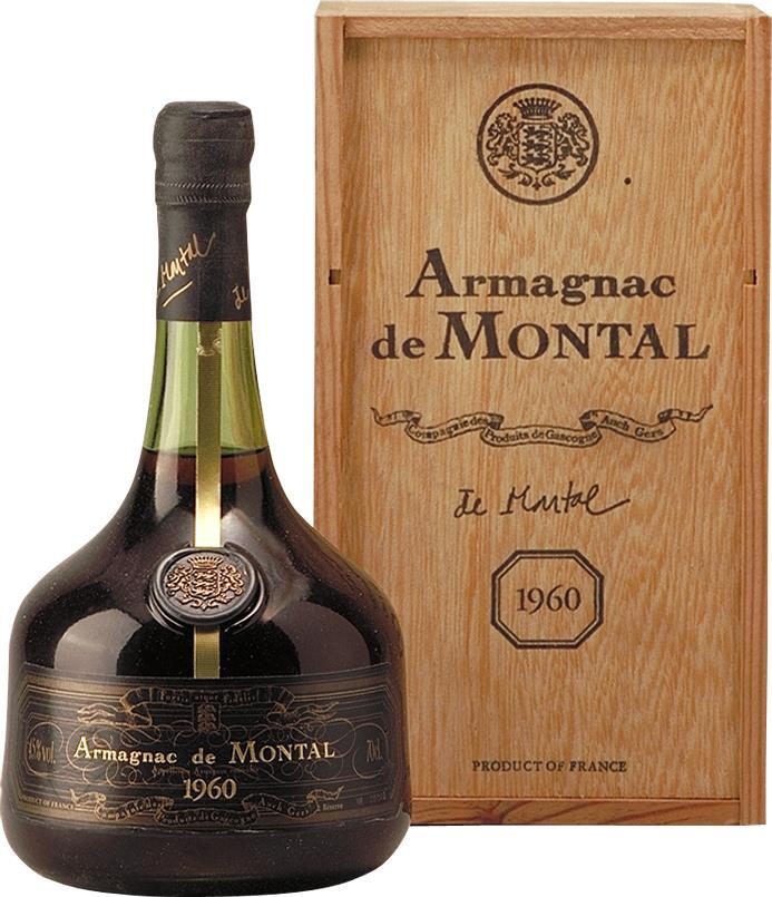 Armagnac 1960 De Montal (4567)