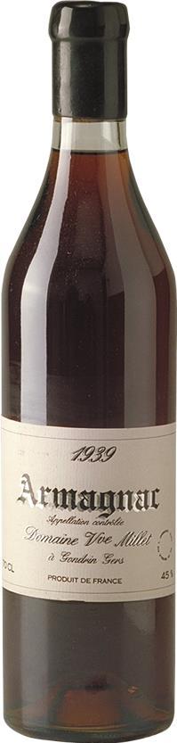 Armagnac 1939 Domaine Millet (4570)