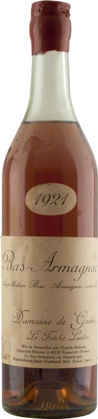 Armagnac 1921 Domaine de Gaube (4596)