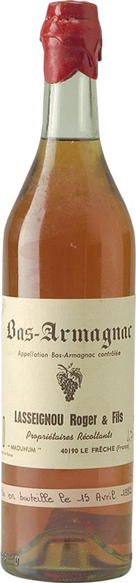 Armagnac 1970 Lasseignou Roger & Fils (4616)