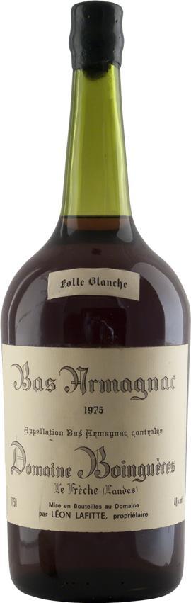 Armagnac 1975 Domaine Boingnères 1.5L (4626)