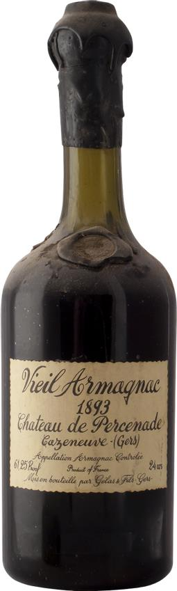 Armagnac 1893 Château de Percenade (4712)