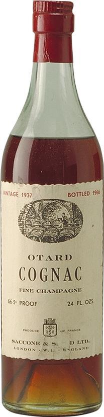 Cognac 1937 Otard Dupuy & Co (4721)