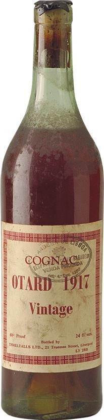 Cognac 1917 Otard Dupuy & Co (4749)