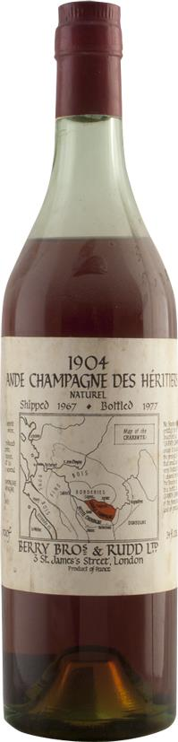 Cognac 1904 Berry Brothers & Rudd (4752)