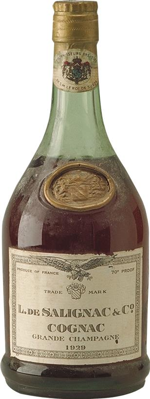 Cognac 1929 de Salignac & Co L. (4781)
