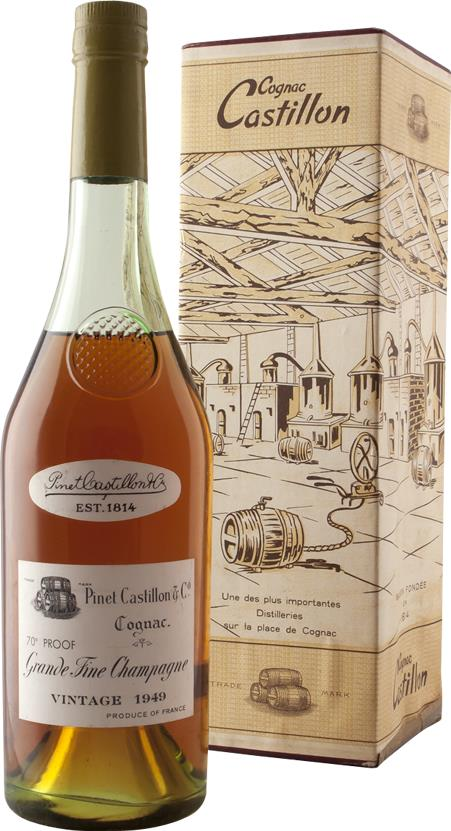 Cognac 1949 Pinet Castillon & Co