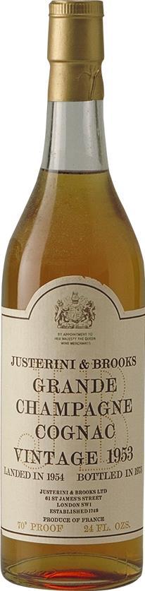 Cognac 1953 Justerini & Brooks (24352)