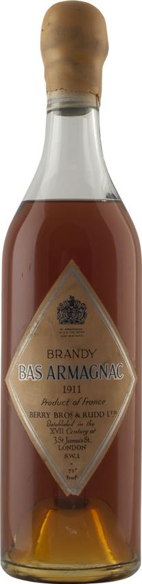 Armagnac 1911 Berry Brothers & Rudd (4803)