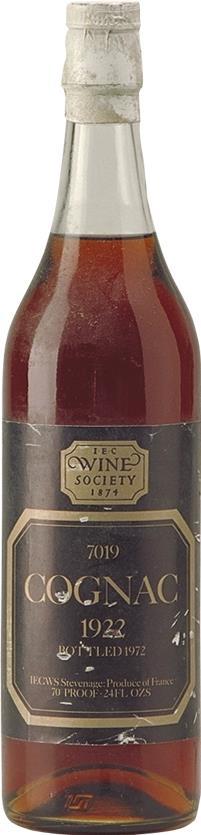 Cognac 1922 Wine Society (4804)