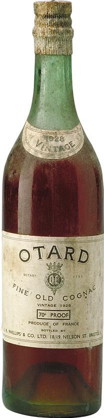 Cognac 1928 Otard Dupuy & Co