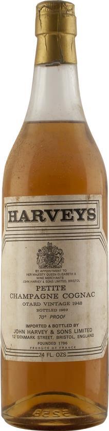 Cognac 1948 Otard Dupuy & Co (4812)