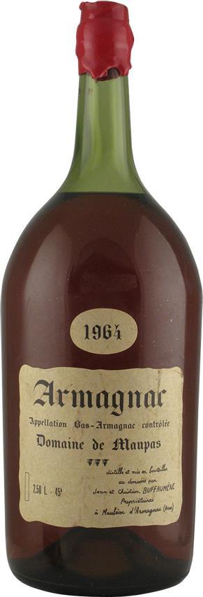 Armagnac 1964 Domaine de Maupas 2.5L (20153)