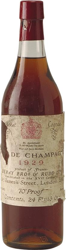 Cognac 1926 Grande Champagne Berry Bros (4827)