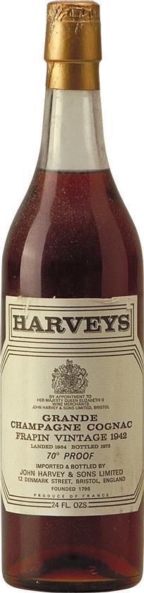 Cognac 1942 Frapin Grande Champagne (4828)