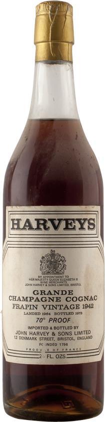 Cognac 1942 Frapin (4830)