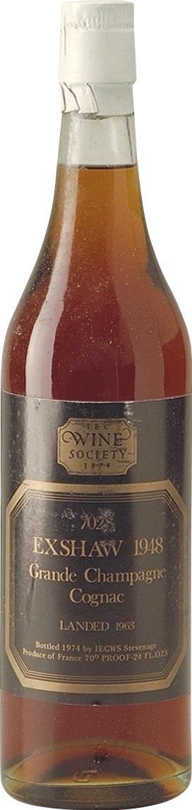 Cognac 1948 John Exshaw (4853)