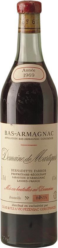 Armagnac 1969 Domaine de Martiques (1402)