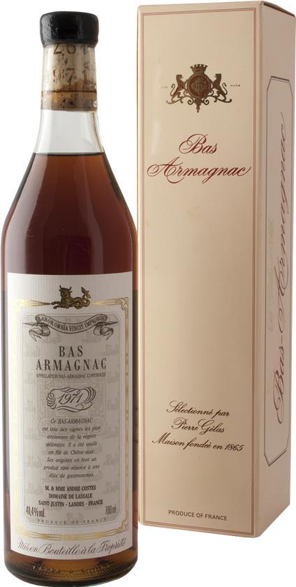 Armagnac 1971 Domaine de Lassale (20156)
