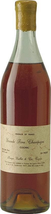 Cognac 1910 Rouyer Guillet & Co (4902)