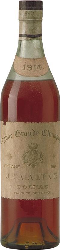 Cognac 1914 Calvet & Co J. (4912)