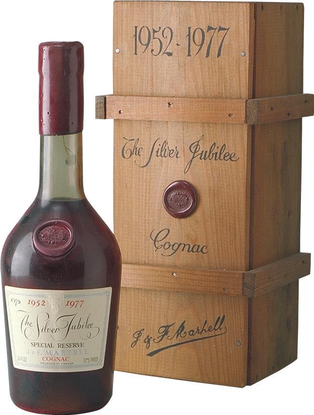 Cognac Martell  Silver Jubilee (4921)