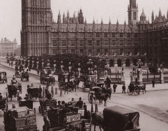 Parliament Square 1890 Old Liquors