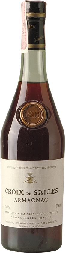 Armagnac 1918 Croix de Salles (4927)