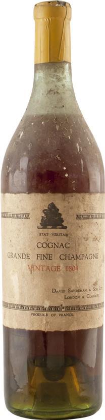 Cognac 1804 David Sandeman & Son (4943)