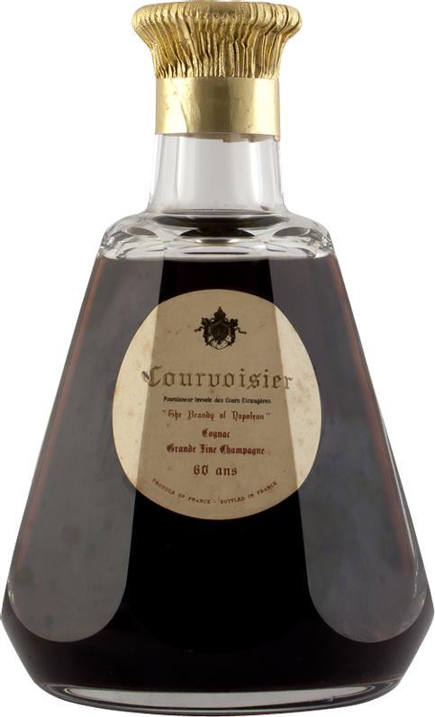 Cognac Courvoisier Baccarat 60 Year Old