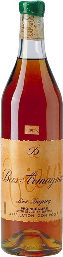 Armagnac 1989 Louis Dupuy (5083)