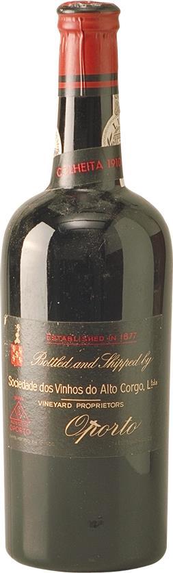 Port 1910 Sociedade dos Vinhos do Alto Corgo (5084)