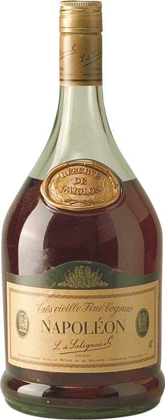 Cognac de Salignac Napoleon Magnum 1970s