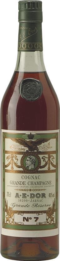 Cognac A.E. DOR No. 7 Grande Réserve 40YO  1970's (5140)