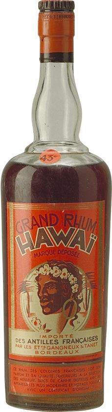 Great Hawaiian Rum 1920s Gangneux & Tanet (5223)