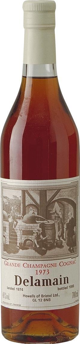 Cognac 1973 Delamain Howells of Bristol (5271)