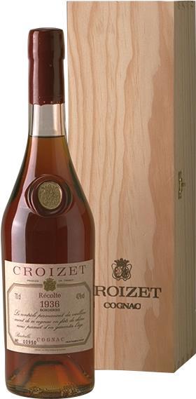 Cognac 1936 Croizet B. Léon 60 year Old