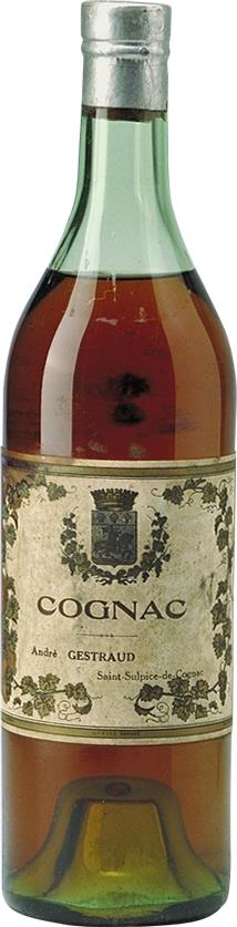 Cognac 1940s André Gestraud Three Star (1495)