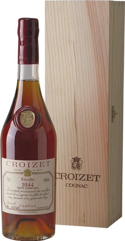 Cognac 1944 Croizet B. Léon Petit Champagne 52 Year Old
