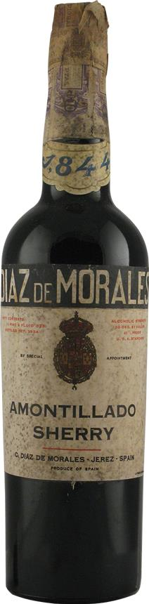 Sherry 1844 Diaz de Morales C., Amontillado (5760)