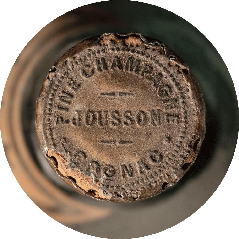 Cognac 1950 Château Jousson Three Star