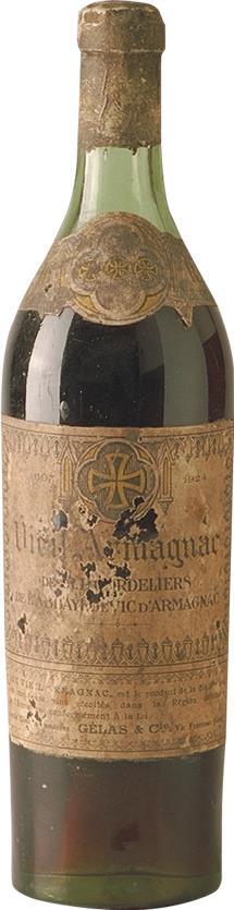 Armagnac 1924 Pères Cordeliers (5890)